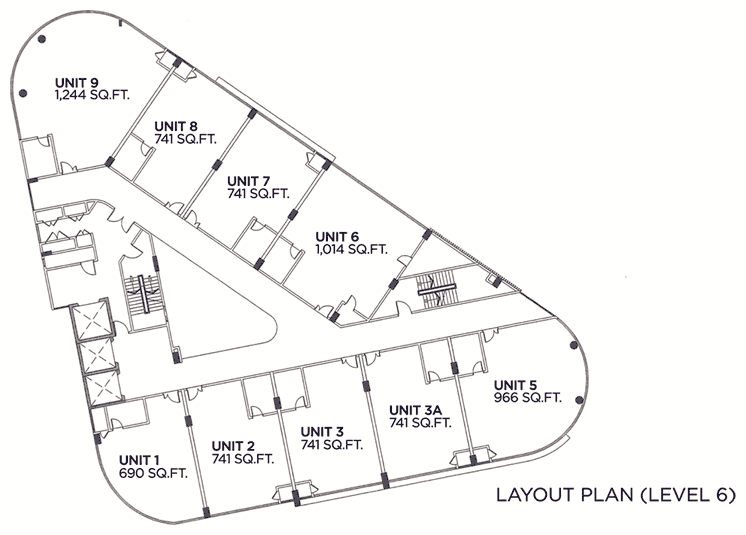 Triangular House Floor Plans Home Mansion